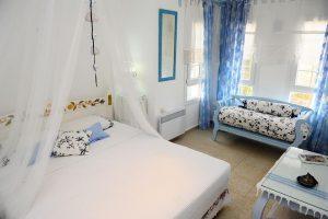 Mavinin pozitif enerjisi Alaçatı İlayda's Suites Hotel'de